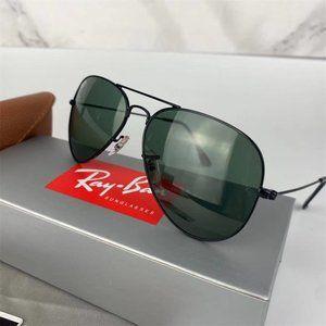 Ray-Ban large metal aviator classic G-15 RB3025 sunglasses *